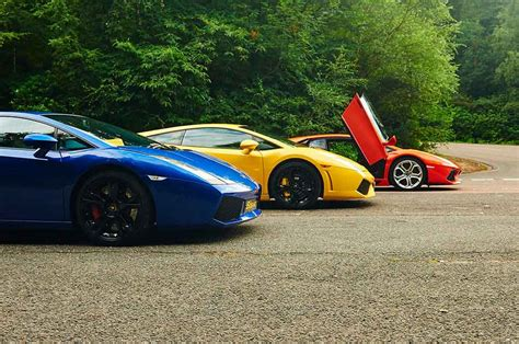 Lamborghini Thrill Ultimate Lamborghini Thrill 6th Gear Experience