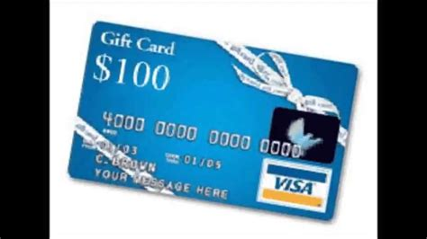 100 Visa Gift Card Free - claim and get a free 100 visa gift card visa gift card youtube