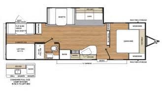 2017 coachmen catalina sbx 301bhsck travel trailer floor plan
