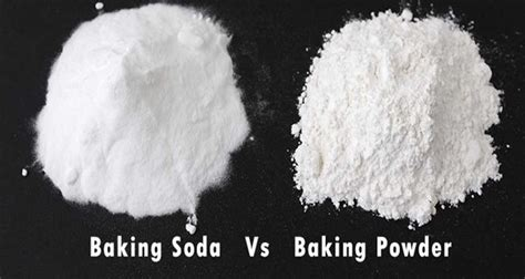difference between baking soda and baking powder health gives life