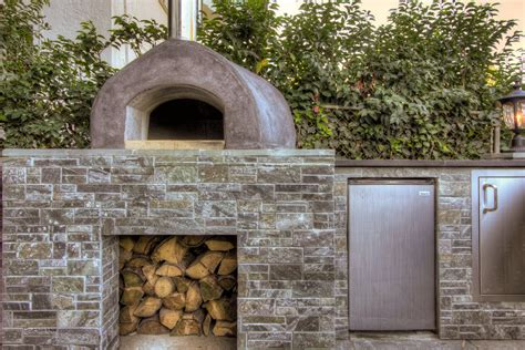 Outdoor Fireplace Pizza Oven Combo Patio Rustic With Outdoor Pizza Oven Fireplace Combo