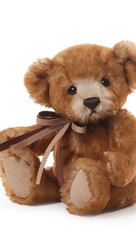 teddy bear sit  wallpaper  iphone