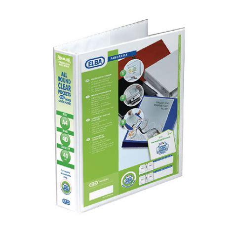 Bantex Ref 5504 A4 Flipover Presentation Binder bantex a4 40mm 4d ring pres binder white pack of 10 oem