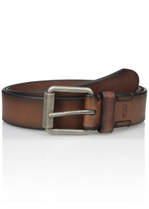Belt Levis Brown Kode 7 Levi S Levi S S 1 1 2 Inch Beveled Roller Buckle Belt