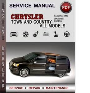 Chrysler Service Manuals Chrysler Town And Country Service Repair Manual