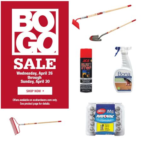 ace hardware email ace hardware buy 1 get 1 free sale mybargainbuddy com