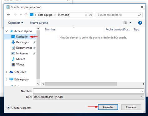 guardar imagenes a pdf c 243 mo convertir documentos a pdf en windows 10 sin