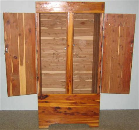 Build Armoire by Free Armoire Wardrobe Closet Plans How To Build A