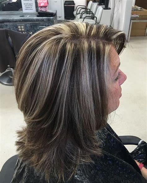 frosted hair highlights for dark hair 500 best images about chunky streaks lowlights 4 on