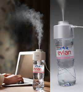 How To Humidify A Room by Portable Amazing Humidifier Uses A Bottle Of Water To