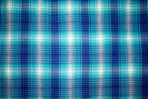 Blue Plaid by Blue Plaid Fabric Texture Picture Free Photograph