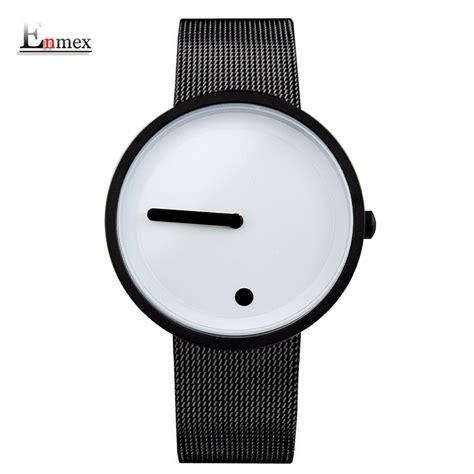 Jam Tangan Fashion 1 enmex jam tangan analog fashion pria e2311 black white jakartanotebook