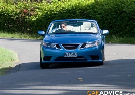 saab convertible 2016 2008 saab 9 3 convertible review photos caradvice