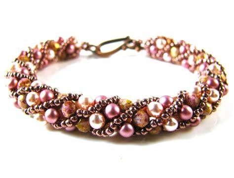 jewelry kits uk russian spiral bracelet kit bronze lavender spoilt