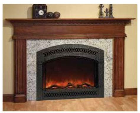 Premade Fireplace by 1000 Images About Electric Fireplaces On