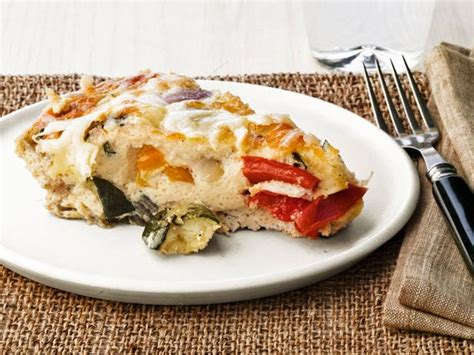 ina garten breakfast roasted vegetable frittata recipe ina garten food network