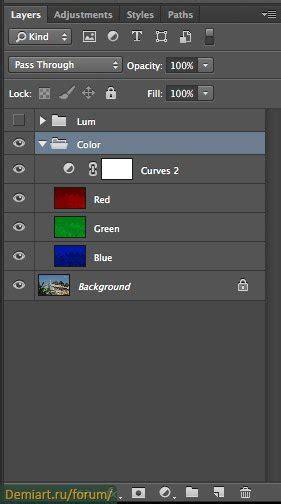 color separation color separation demiart photoshop