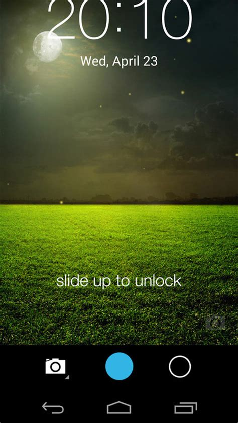 themes lock android fireflies lockscreen free android theme download appraw