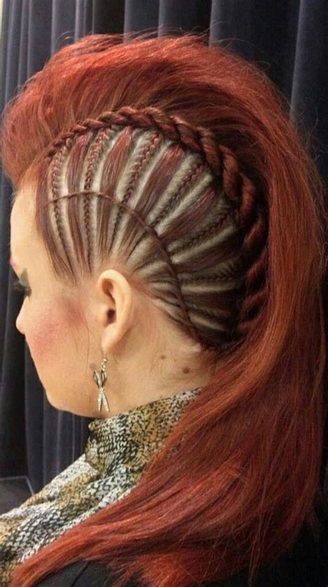 side mohack with real hair pinterest the world s catalog of ideas