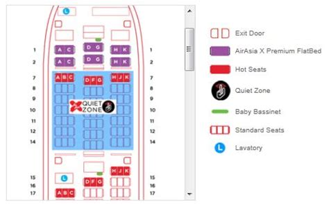 airasia x flight seat layout malaysian meanders september 2012