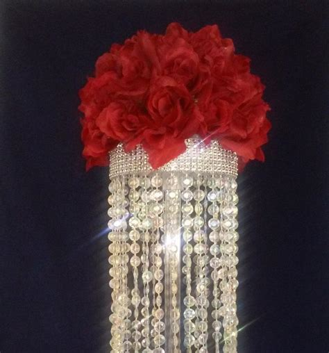 Diy Chandelier Centerpiece Chandelier Table Centerpiece Limited Time Only Wedding Floral Centerpiece Candles