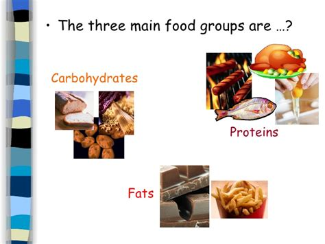 3 carbohydrates groups 9 nutrition in humans