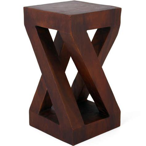 twisted wood side table twisted wood side table ulsga