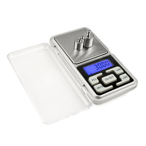 Timbangan Emas 500 G Jewelry Scale Pocket Scale Ky taffware timbangan emas mini pocket 200g 0 01g mh 200 silver jakartanotebook