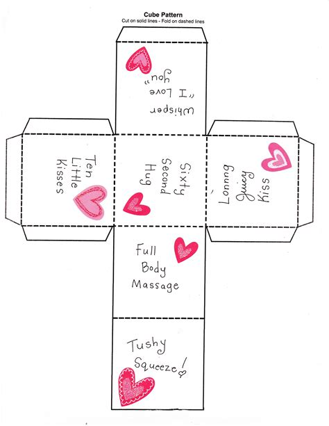 printable love dice the 25 days of love fun day 5 love dice happy home fairy