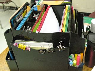 Teaching Tools I Couldn T Live Without The Desk Apprentice Rotating Desk Organizer