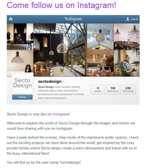 instagram description layout how to start with instagram to promote your brand