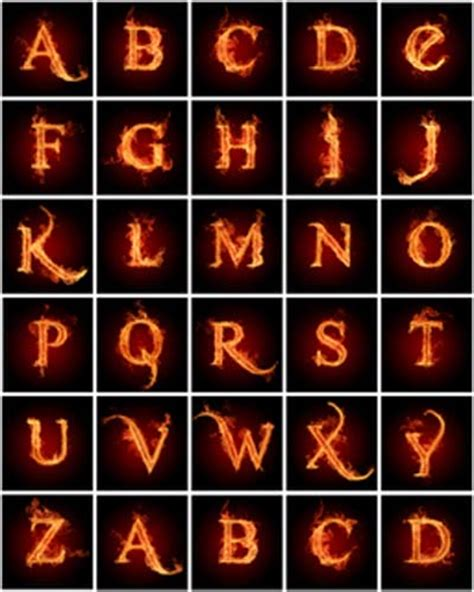 fire pattern font 10 fire flames letters fonts images free fire flames