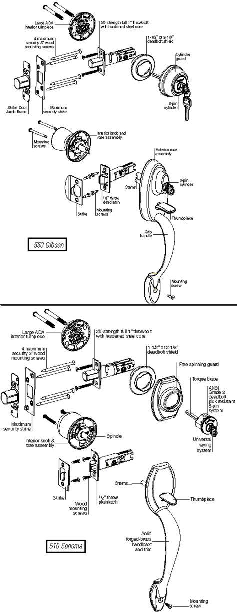 kwikset parts diagram image gallery kwikset parts catalog
