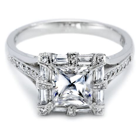 kinds of wedding rings for princess cut ring review