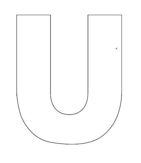 Letter U Coloring Is For Umbrella Kids Colouring Pages Grig3 Org Letter Template Pages