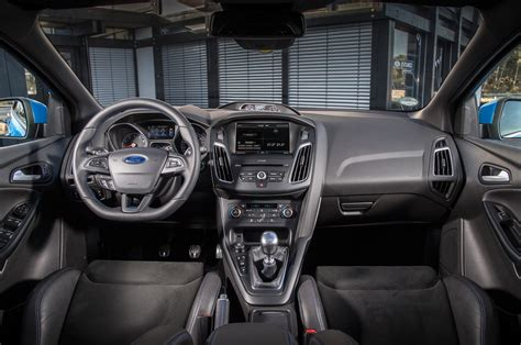 ford focus interior 2016 the ford focus rs has its own team of trained engine listeners