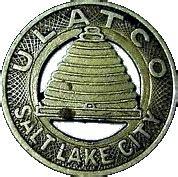 1 fare ulatco salt lake city tokens numista