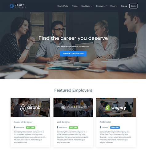 themeforest jobify top 12 wordpress themes for job boards and recruitment