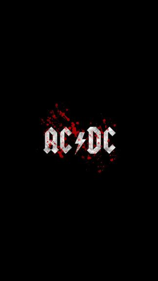 Acdc For Iphone 6 acdc logo iphone 6 wallpaper