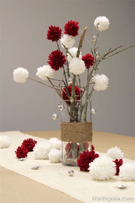 best 25 pom pom centerpieces ideas on paper