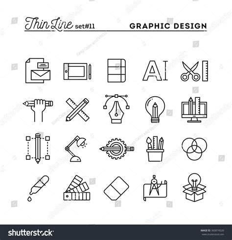 graphic pattern design software graphic design creative package stationary software stock