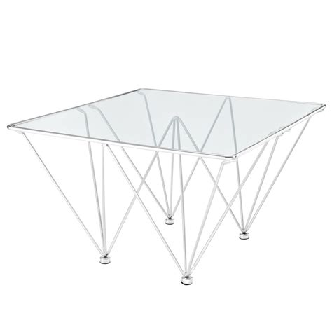 prism table prism side table brickell collection modern furniture