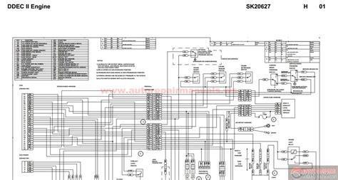 ddec ii wiring diagram peterbilt ddec ii engine sk20627 auto repair manual forum heavy equipment forums