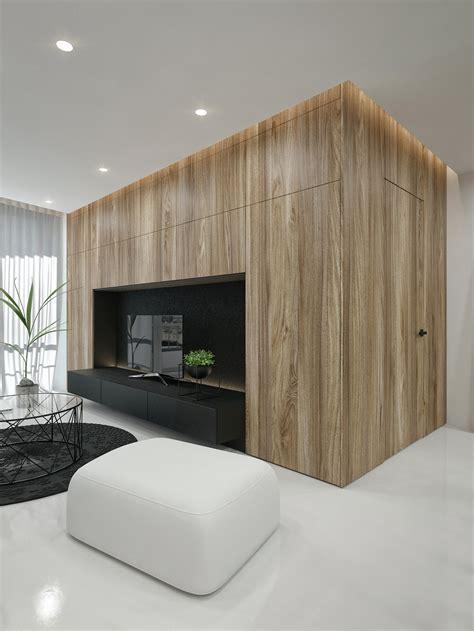 black  white interior design ideas modern apartment