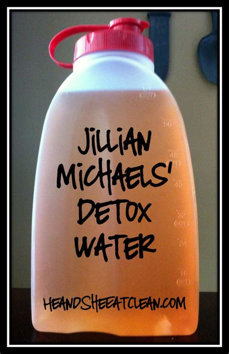 Detox Belly Bloat Drink by Jillian Detox Water Detox Waters Drinks And