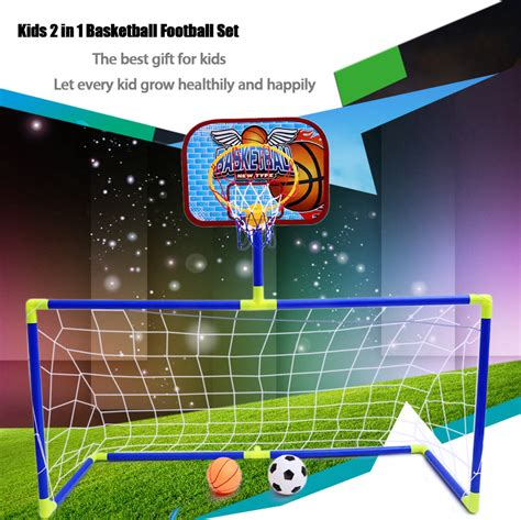 2 In 1 Basketball dropshipping for anjanle portable 2 in 1 football