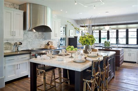 Kitchen Islands With Seating These 20 Stylish Kitchen Island Designs Will You Swooning