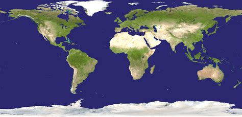 earth map composite map of the world assembled from data acquired by