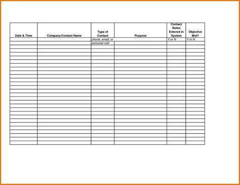 sle sales call reports and sales call sheet template