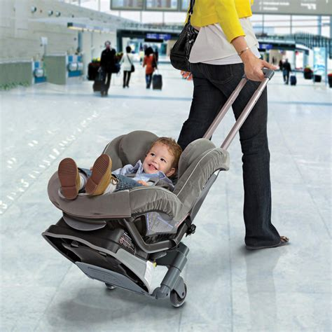 toddler car seat airport stroller baby portable safe car seat transporter stroller infant
